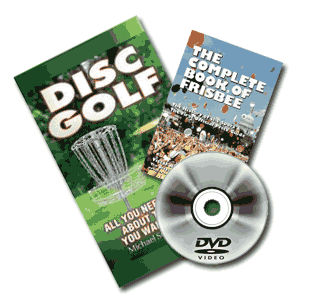 Disc Golf Books and DVDs